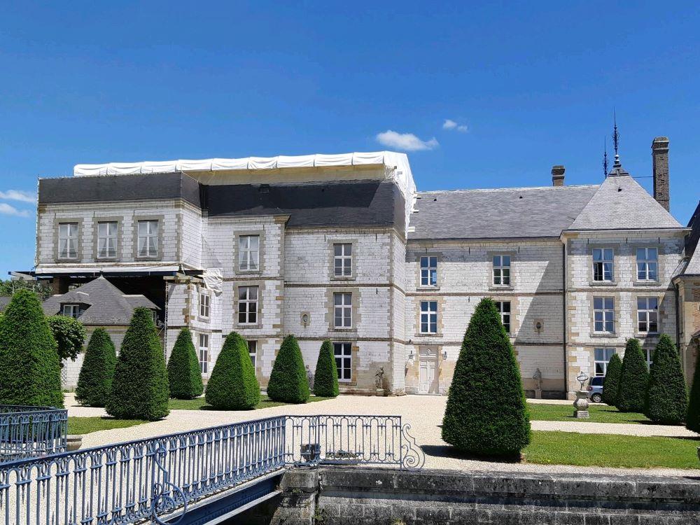 Château de Vitry La ville
